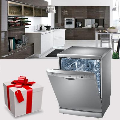 cucina regalo lavastoviglie