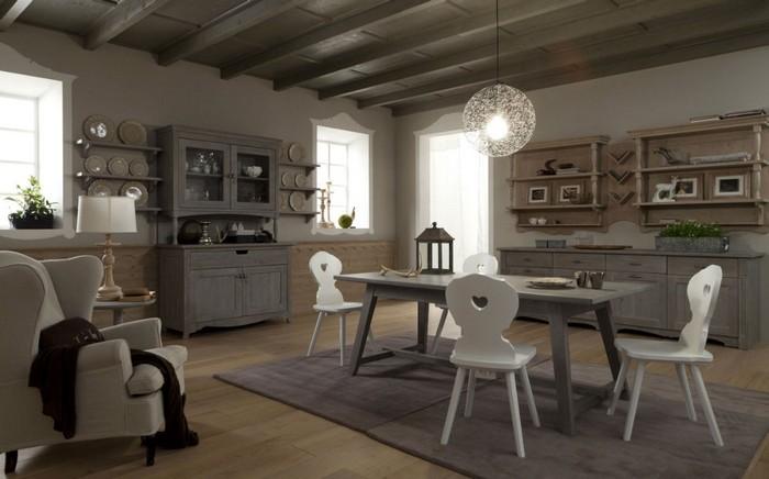 La casa in campagna idee d 39 arredo per renderla pi - Mobili tinello soggiorno ...