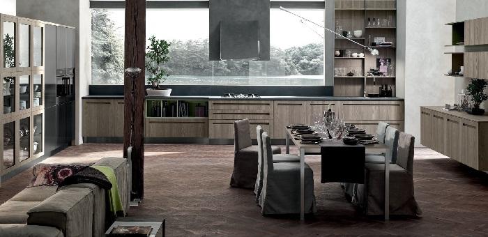 Tecnologia linee essenziali e colori naturali le - Colori di cucine moderne ...