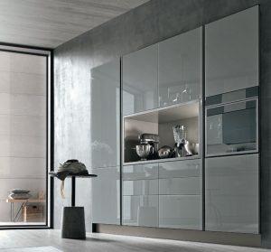 Aliant di Stosa: ante in vetro per inediti giochi di luce in cucina ...
