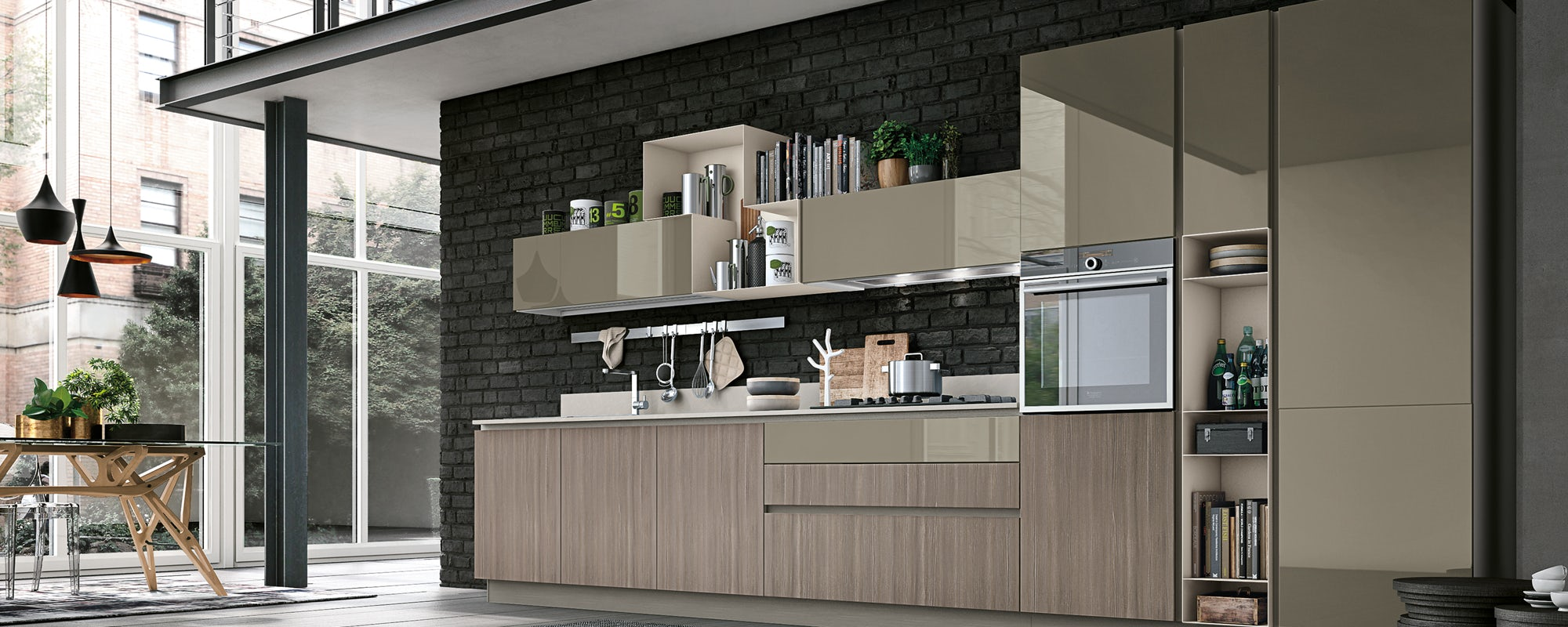 Cucina Stosa Infinity Lecce