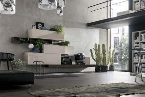 pareti attrezzate stile moderno lecce e provincia