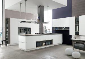 cucina open space con isola Lecce