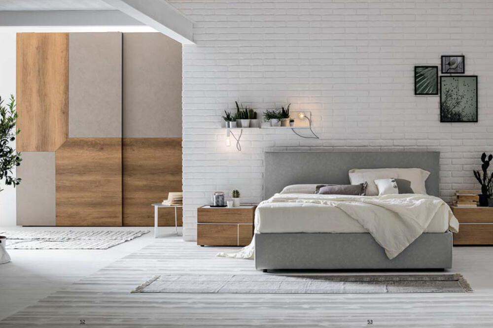 camera da letto stile scandinavo lecce e provincia.