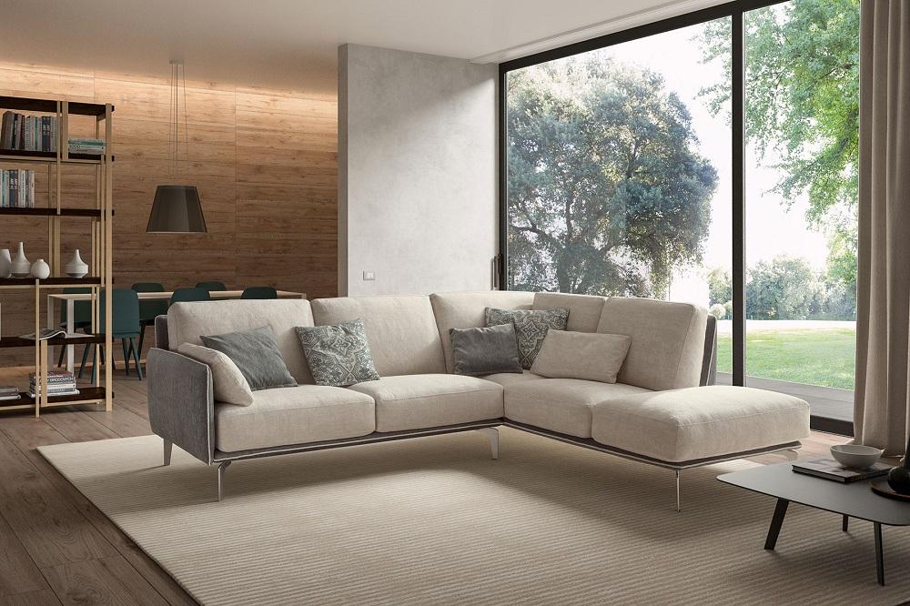 divano in stile minimal Samoa Lecce